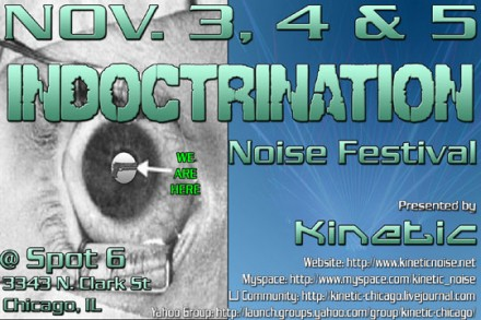 Indoctrination flyer 1