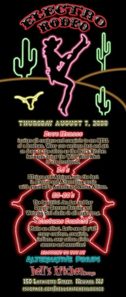 Electro Rodeo flyer
